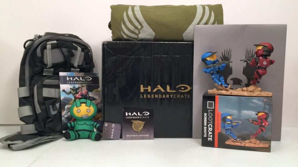 Halo Legendary Crate Spartan-IV Initiation Review