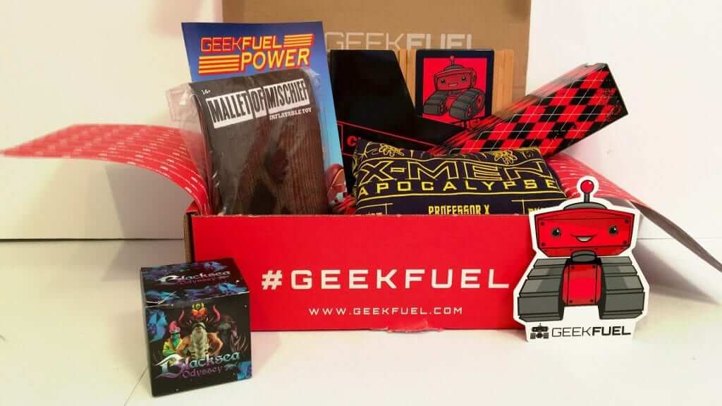 Geek Fuel:  X-Men, Harley Quinn and More - Review