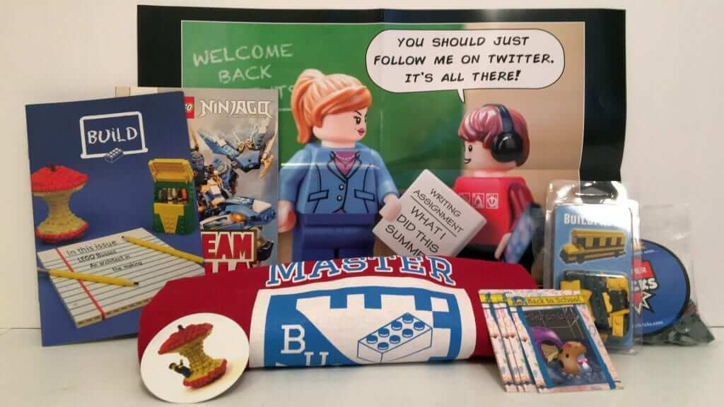 Brick Builders Club Went Back to School in September - Review