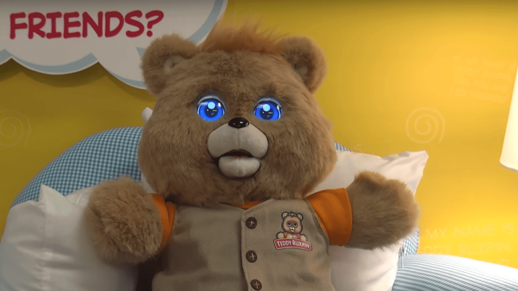 '80s Icon Teddy Ruxpin Is Back