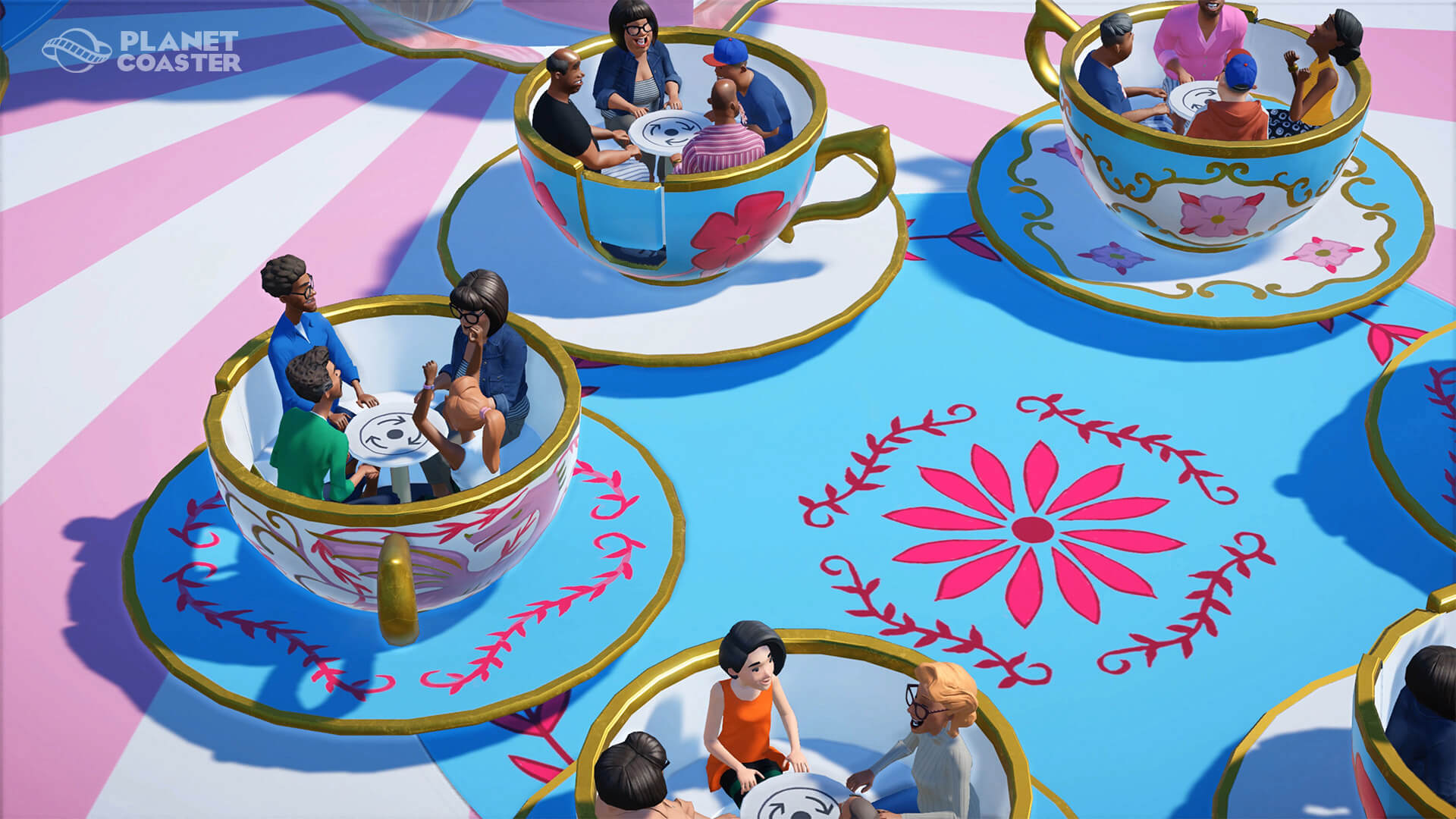 Not enough teacups. That's what I was overlooking.