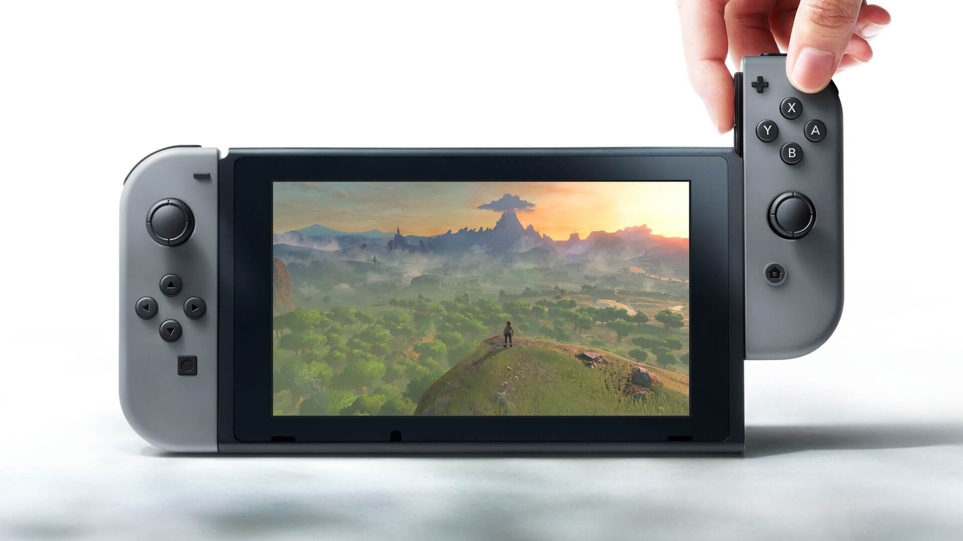 A First Look at the Nintendo Switch
