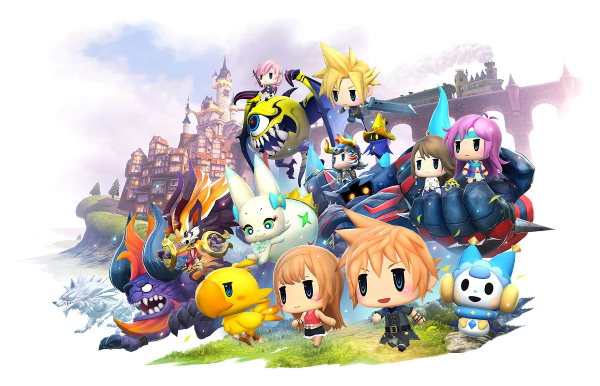 World of Final Fantasy Demo Out Next Week