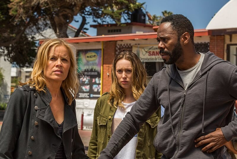 Fear the Walking Dead Alicia, Madison and Strand