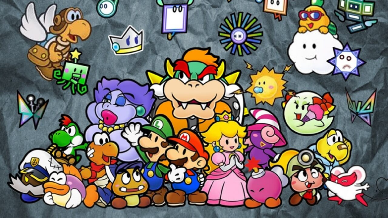 fast paper mario and ttyd tas runs speedrun fast paper mario and ttyd tas runs