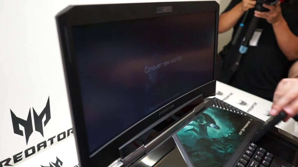 Acer is Building a Curved-Screen Gaming Laptop