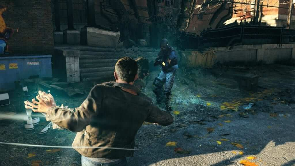 The time powers in Quantum Break are a particular highlight for combat.