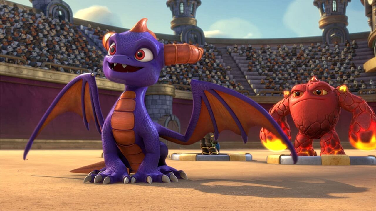 Don't forget Skylanders Academy is also coming to Netflix this month too.