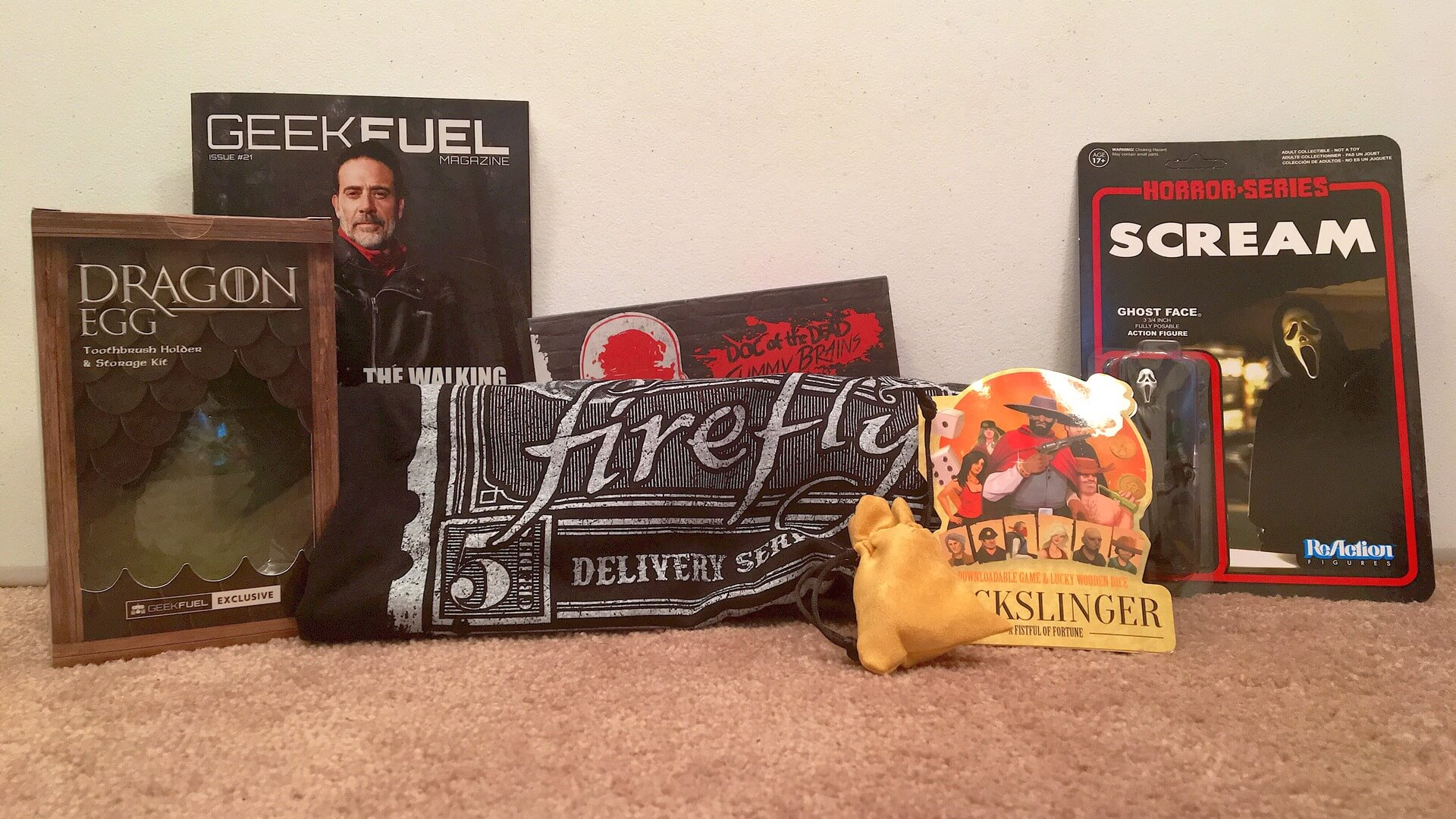 Geek Fuel:  Horror Collectible Review