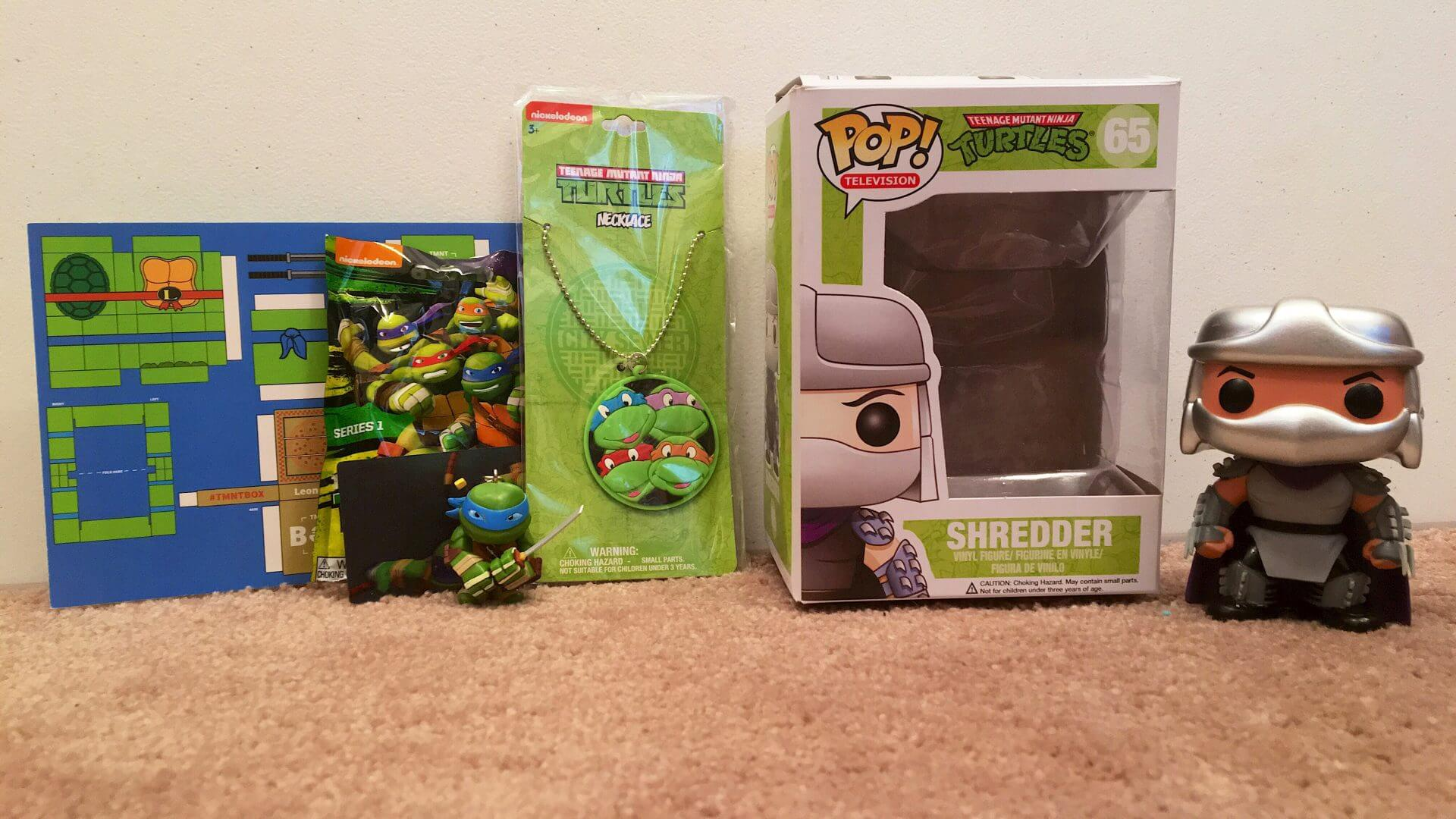 TMNT Box:  A Great Christmas Gift Idea for a TMNT Fan - Review