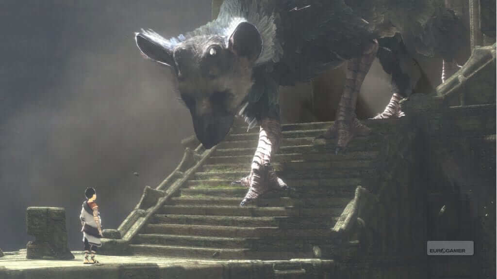 New Gameplay Footage From The Last Guardian Released