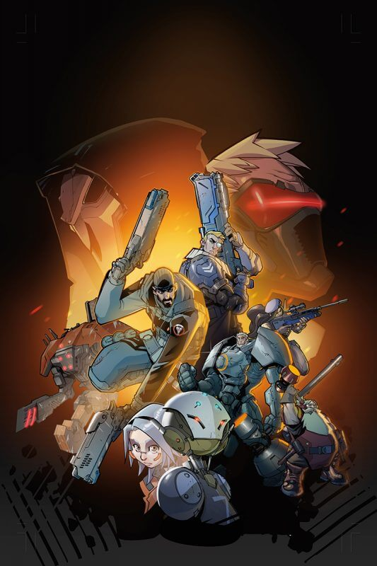 Overwatch: First Strike Cover Art