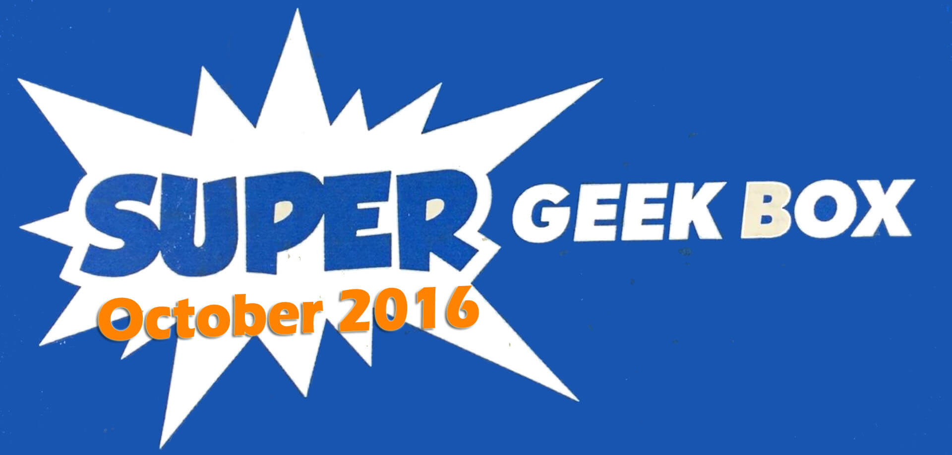 Super Geek Box:  A Cute Kind of Darkness - Review