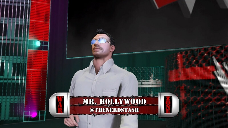 Mr H0llywood invades WWE 2K17