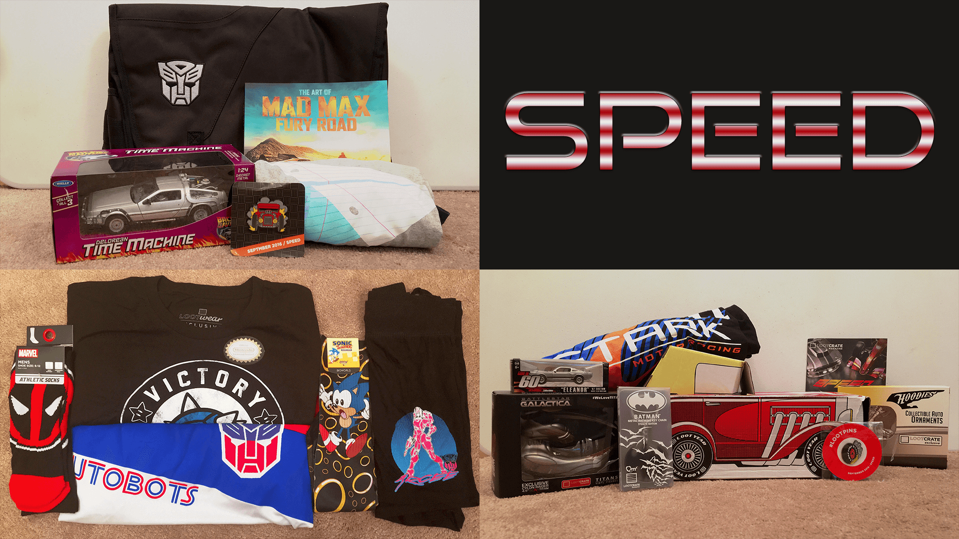 Loot Crate: All About Speed - Review