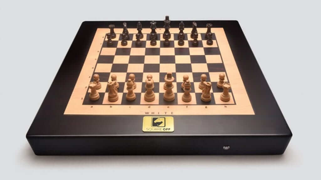 Square Off's Magnetic Chess Board Moves Itself