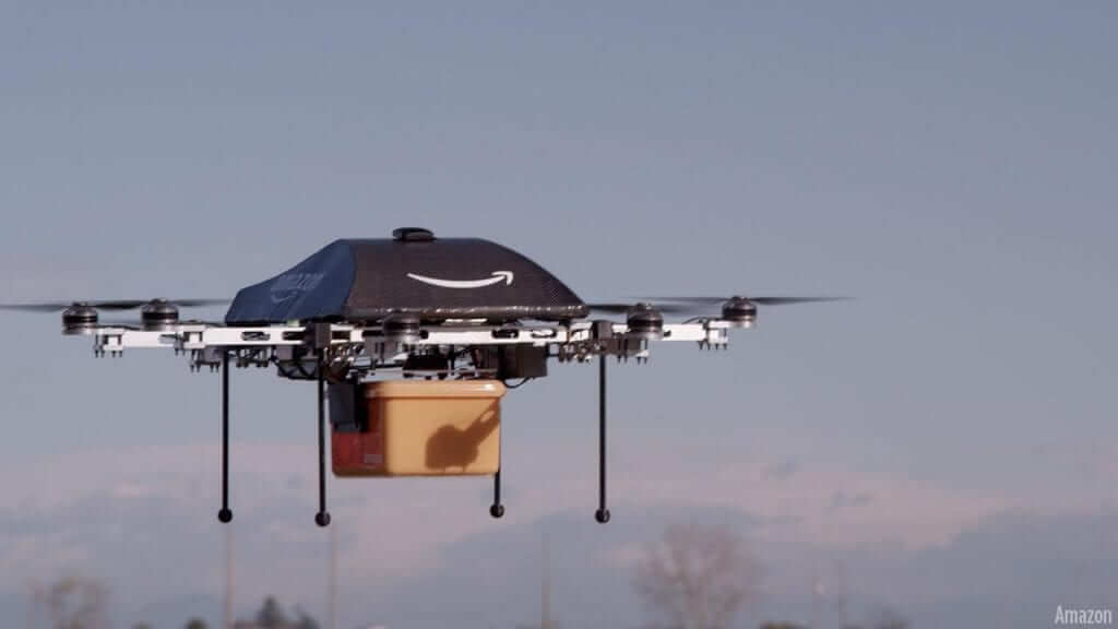 Amazon Prime Air Makes First Drone Delivery