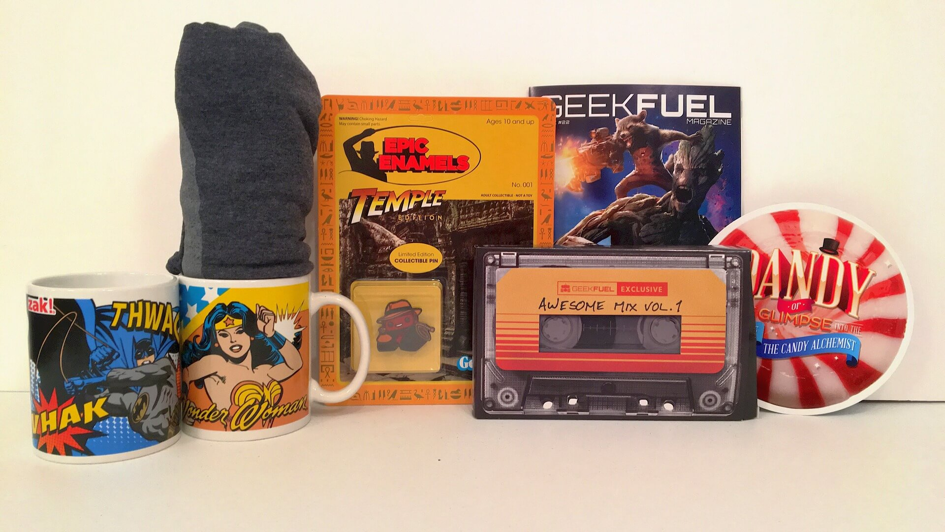 Geek Fuel:  DC Comics, Futurama and more! - Review