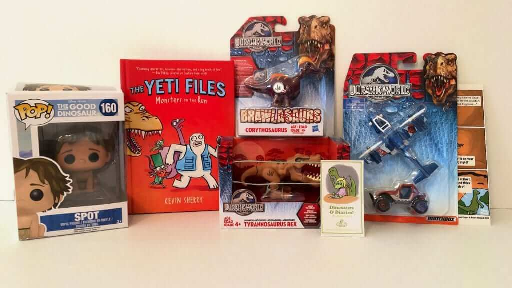 Kids Prize Pack:  Dinosaurs and Diaries  - Review