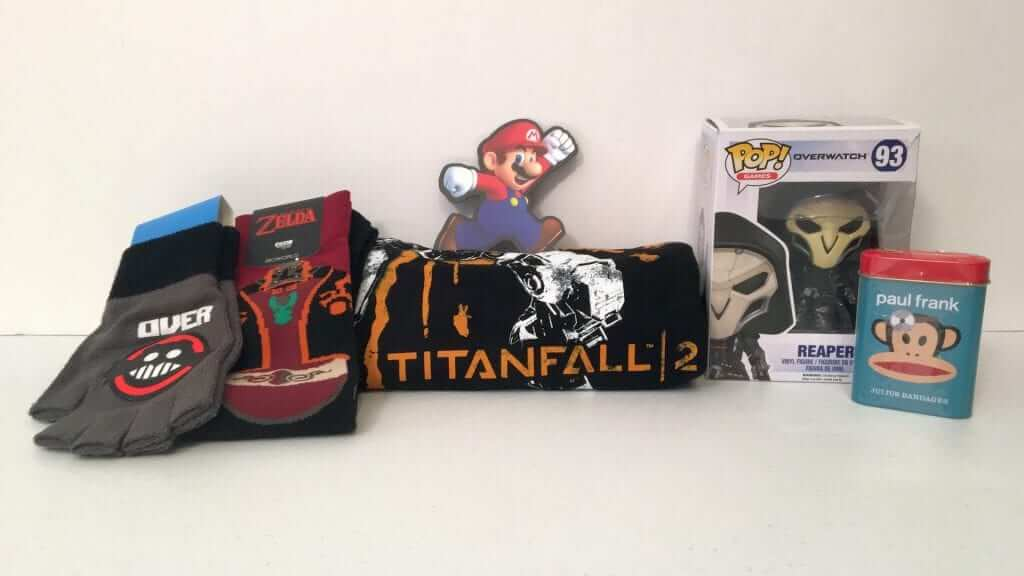 Loot Gaming:  Titanfall 2, Sonic, Mario and Overwatch - Review