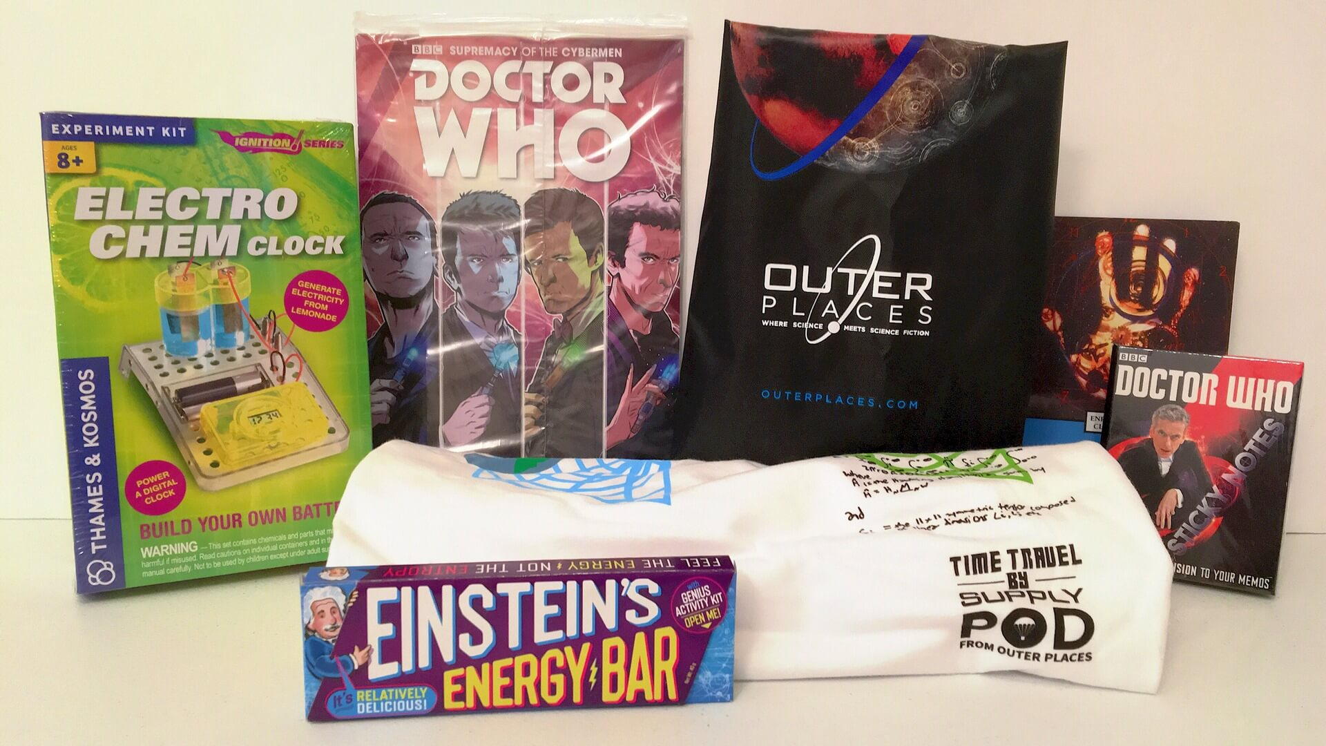 Supply Pod:  Time Travel and Doctor Who - Review
