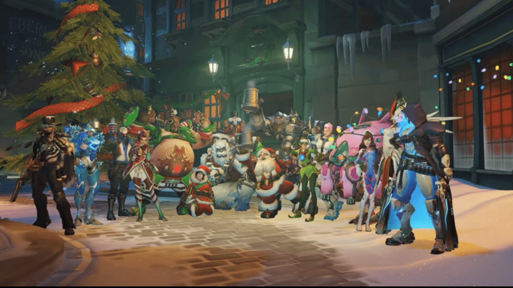 Overwatch Winter Wonderland Event is Live