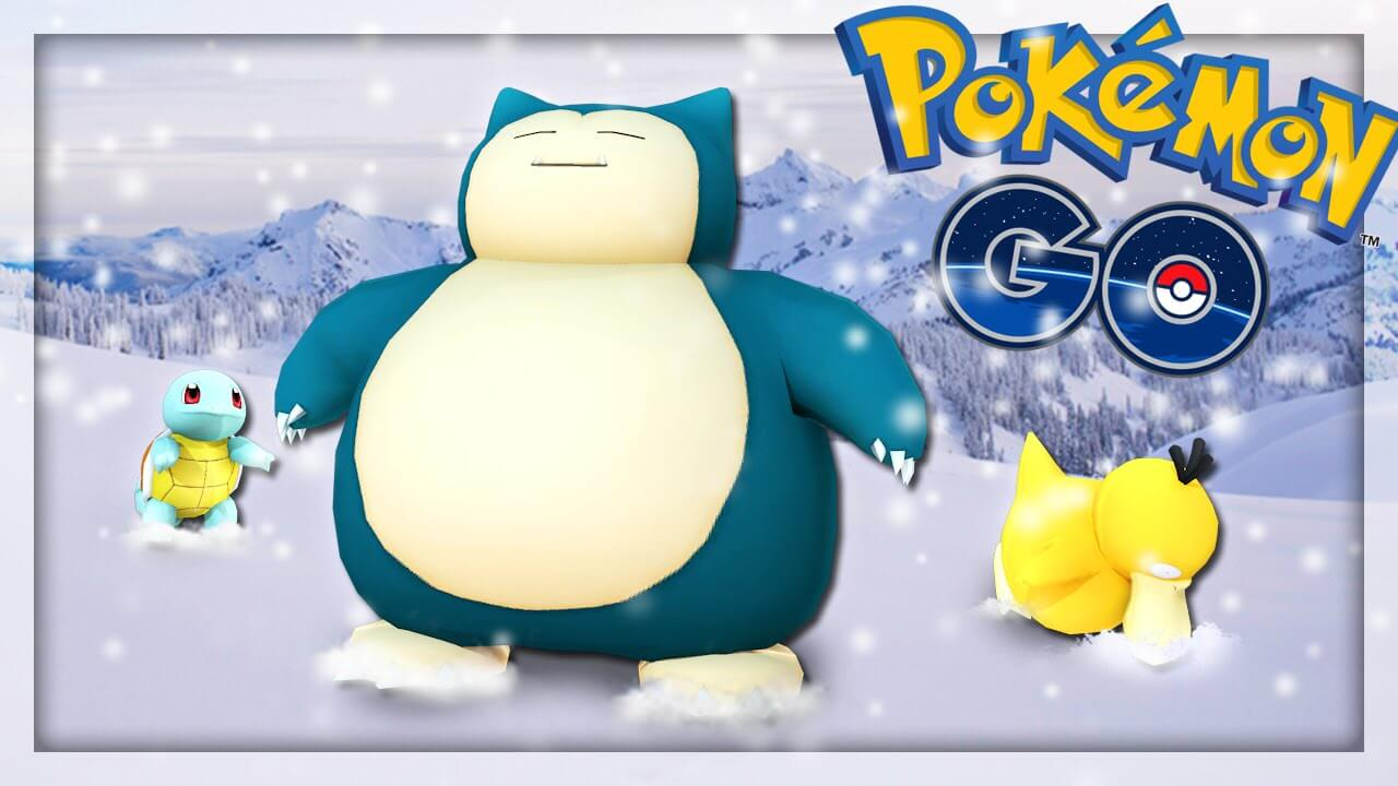 Christmas Content for Pokemon Go