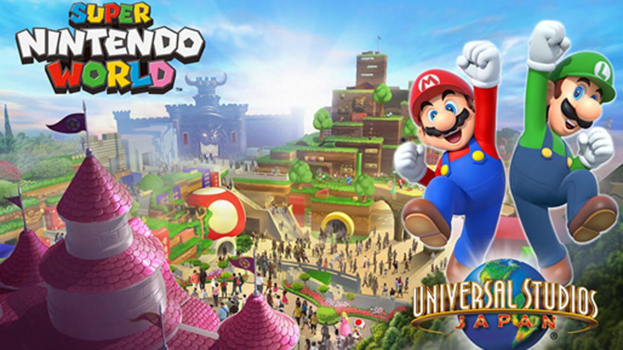 Glimpse Universal Studios' Nintendo Attraction