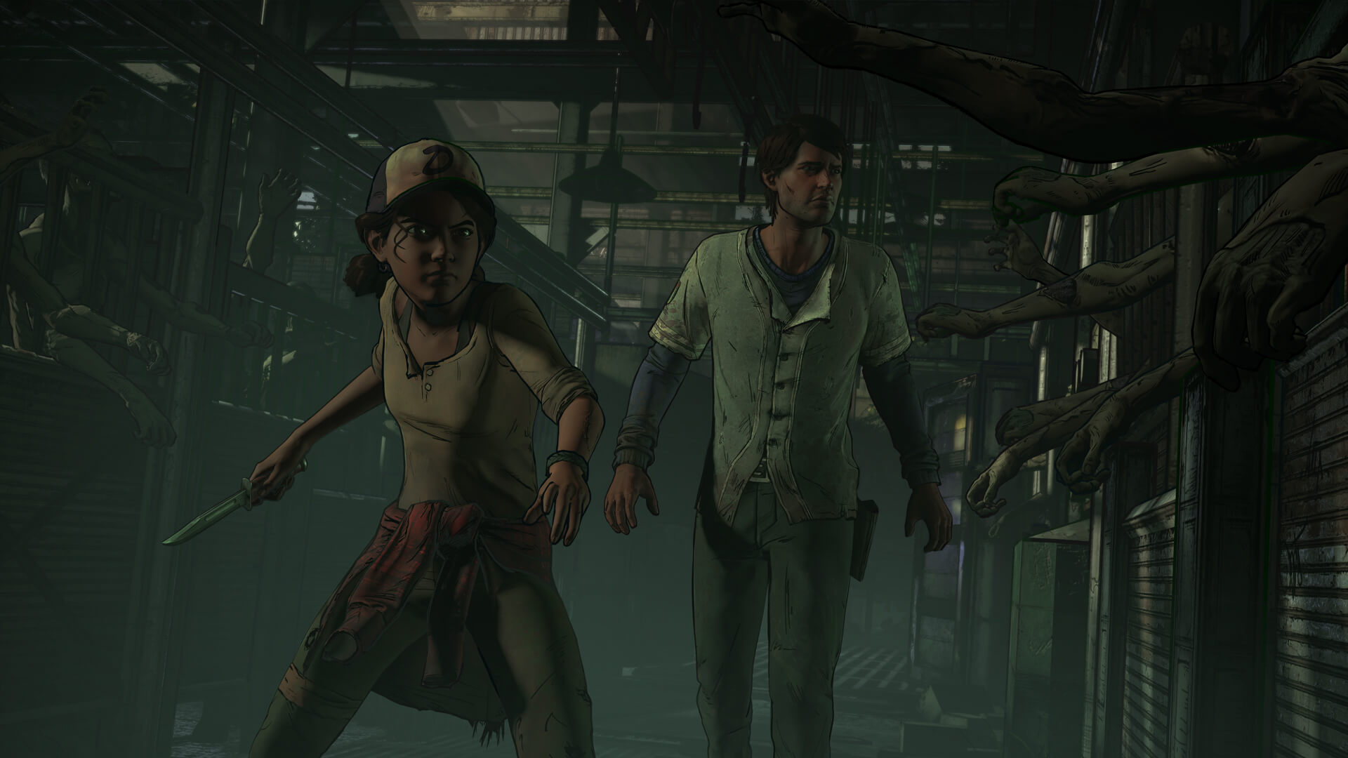 The Walking Dead: A New Frontier Not on 360 or PS3