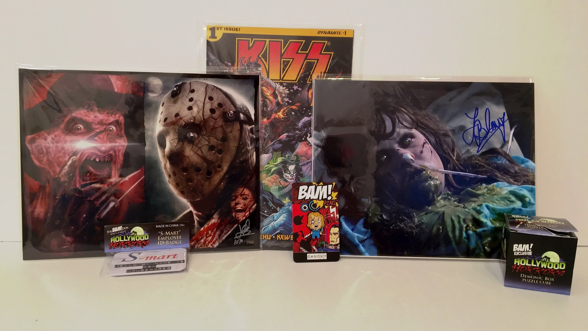 The BAM Box:  Freddy, Jason, Chucky and more - Review