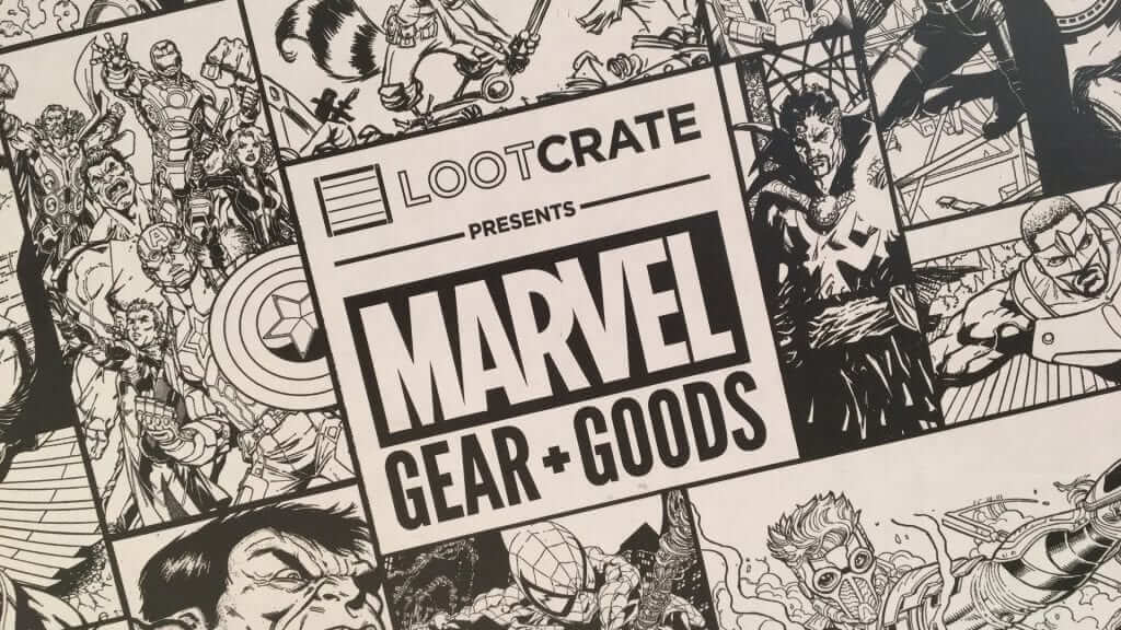 Loot Crate Marvel Gear and Goods: Mystic - Review