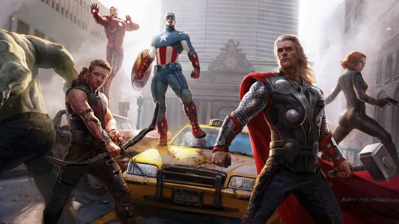 Square Enix Announces Avengers Project