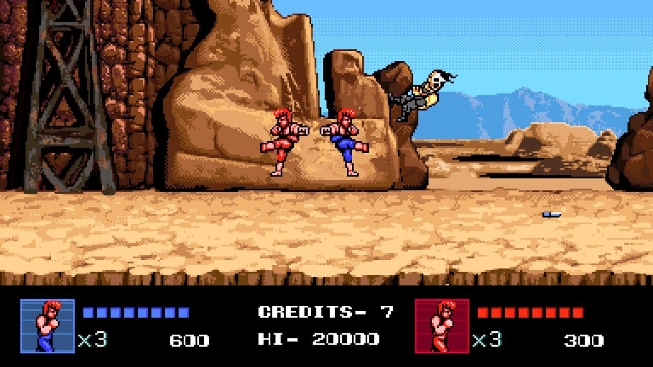 Double Dragon IV Releases Next Week