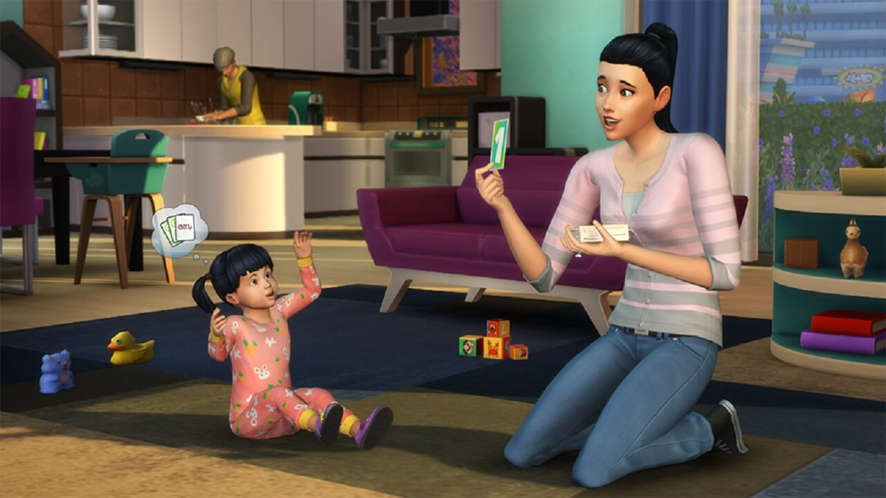 The Sims 4 Adds Toddlers To The Mix