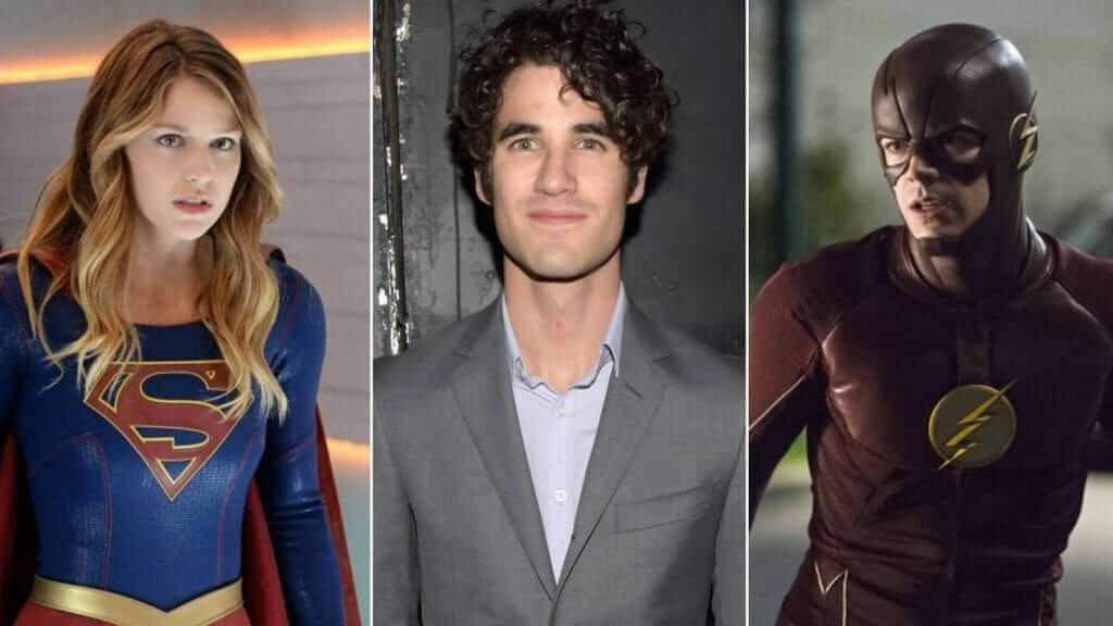 Upcoming CW Crossover Unites former Glee Stars in a