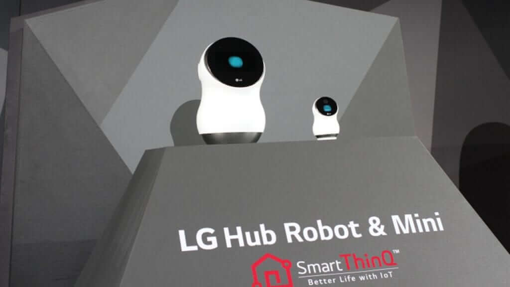 Meet Hub, Your New Robo-Butler from LG