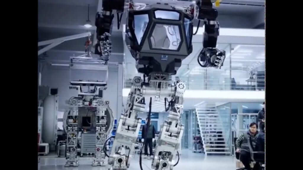 Korean Mech Takes First Steps With Human Pilot