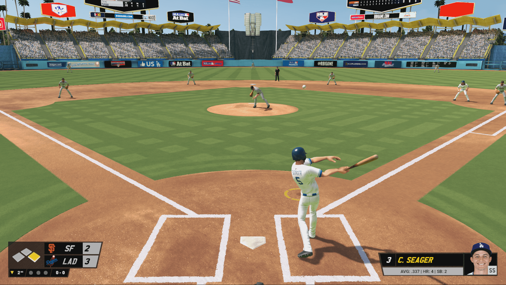 R.B.I. Baseball 2017 Reveals Dodgers' Seager As Cover Athlete