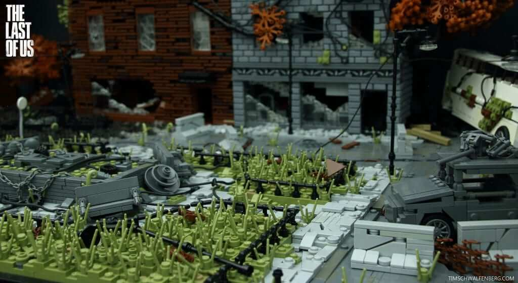 The Last of Us Game Recreated Using LEGO
