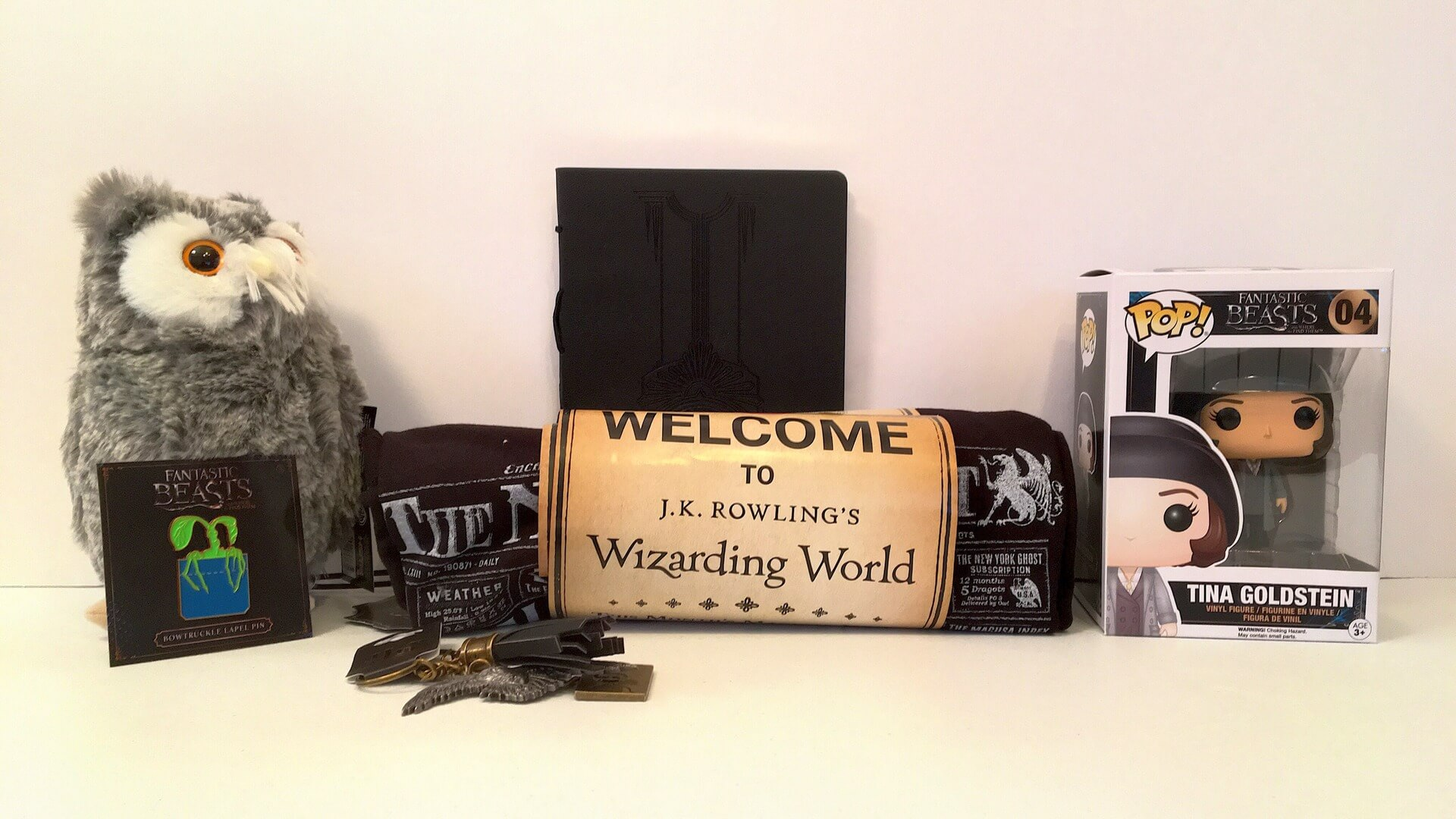 Wizarding World: Loot Crate Brings Harry Potter in a Crate! - Review