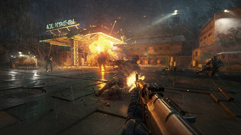 Sniper: Ghost Warrior 3 explosion and gun play