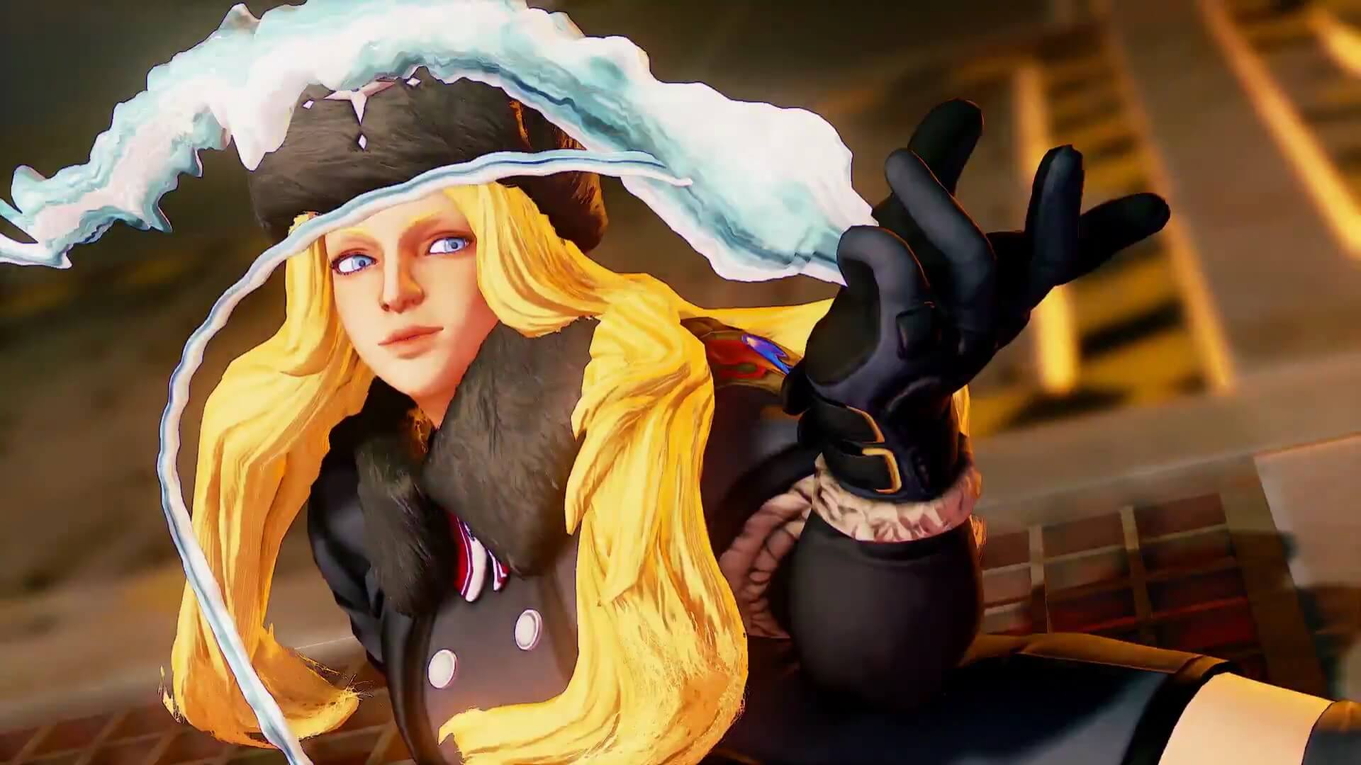 Street Fighter V - New Trailer Introduces Kolin's Skills and Strategy