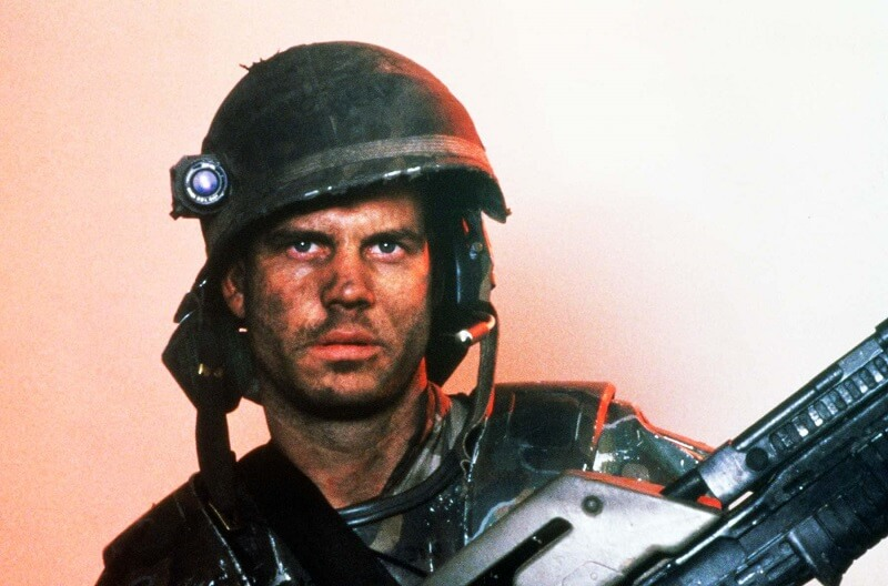 Bill Paxton as Hicks in Aliens