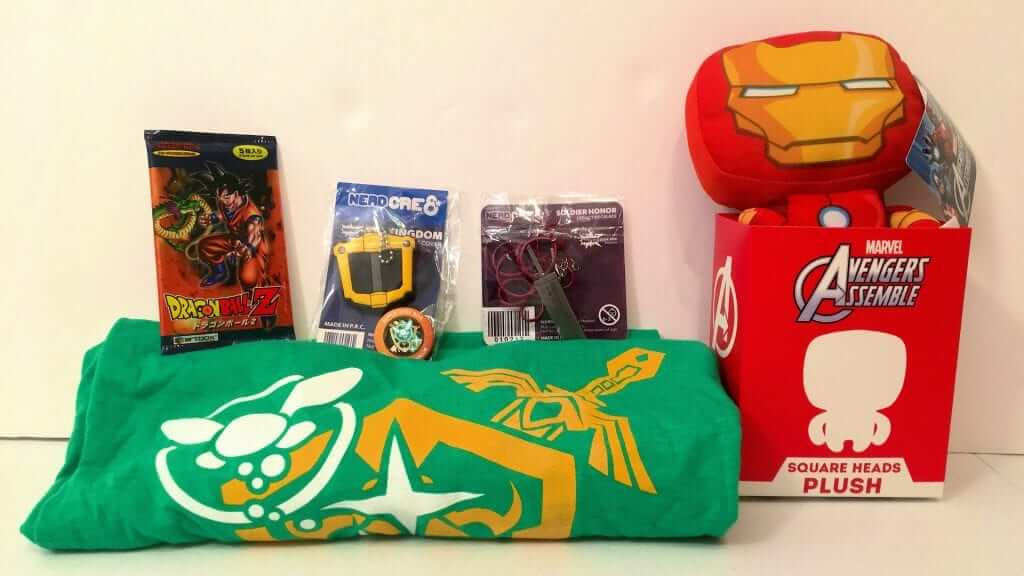 Super Geek Box Highlights Transformers, Marvel, Zelda and More - Review