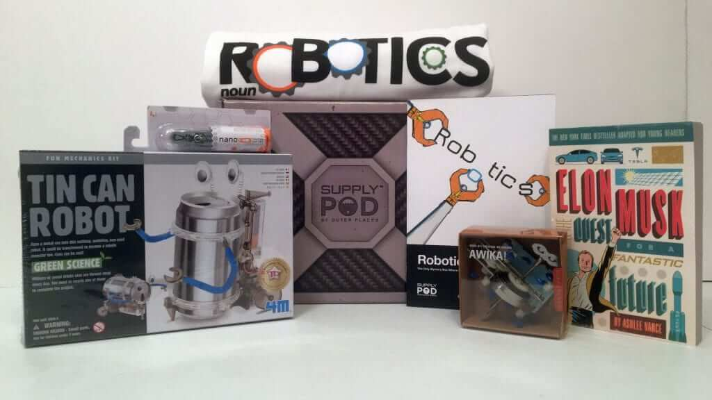Robotics Explosion in a Box! - Supply Pod Spring 2017 Review