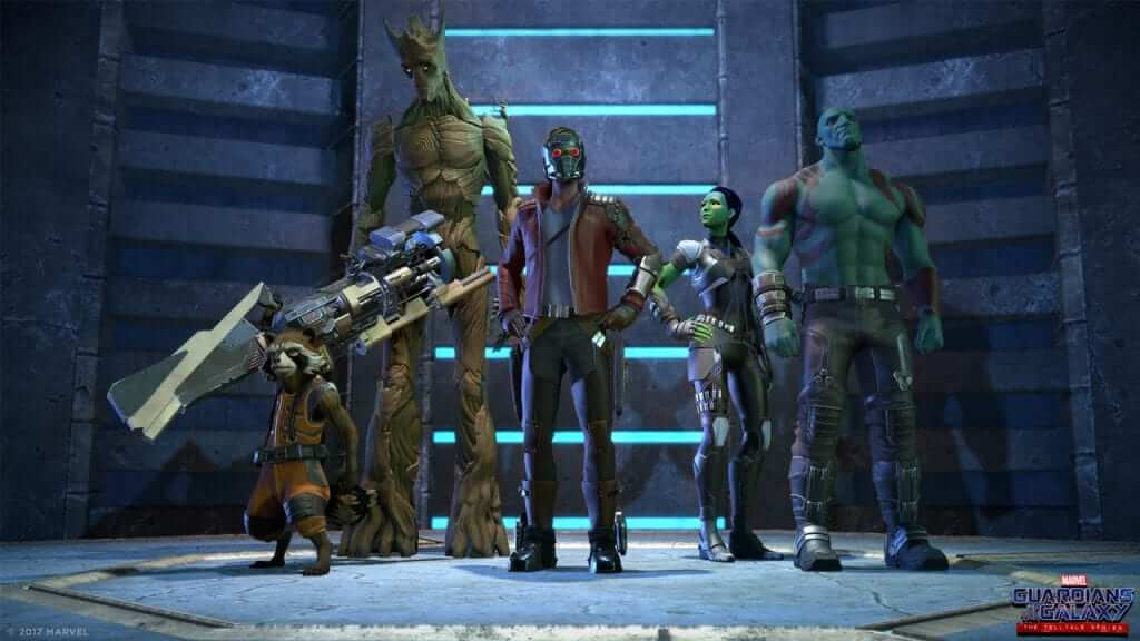 Guardians of the Galaxy: The Telltale Series Gets an Official Trailer