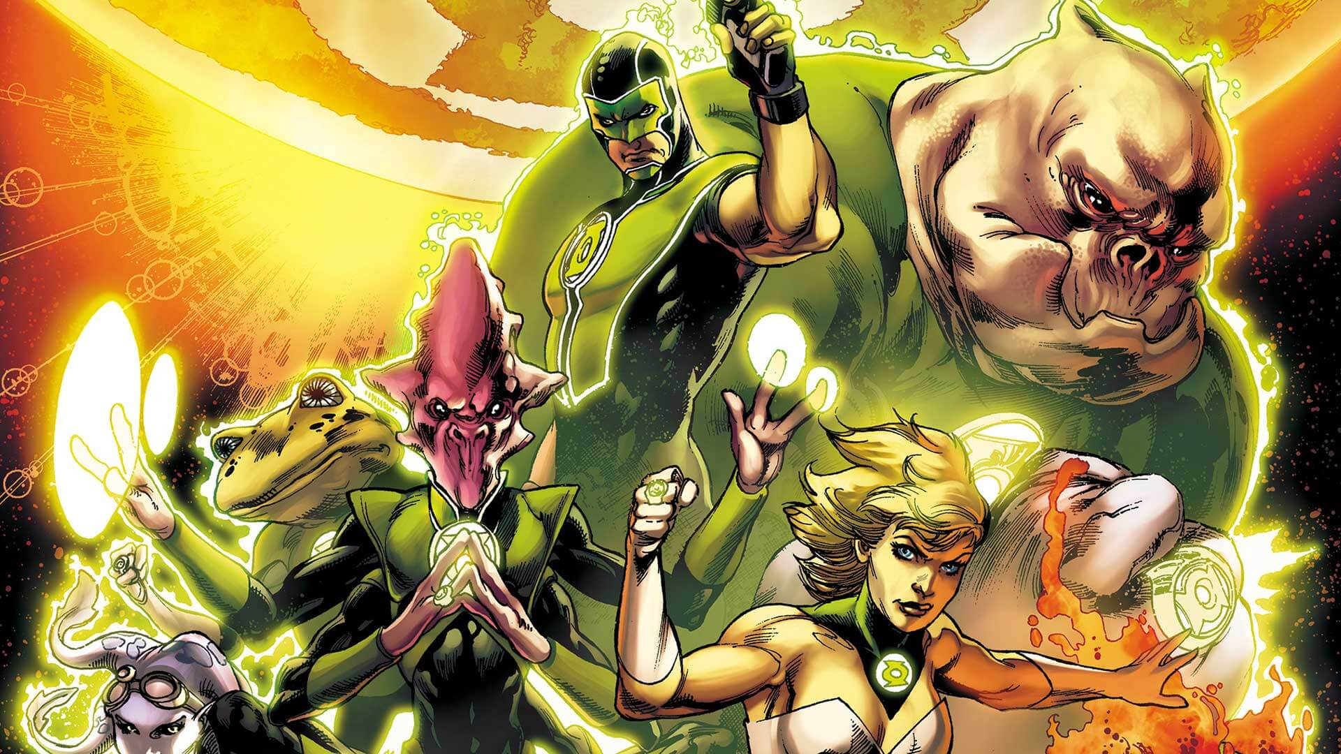 David S. Goyer Possibly Directing Green Lantern Corps.