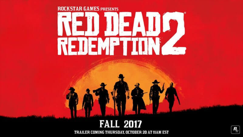 E3 2017 Red Dead Redemption 2