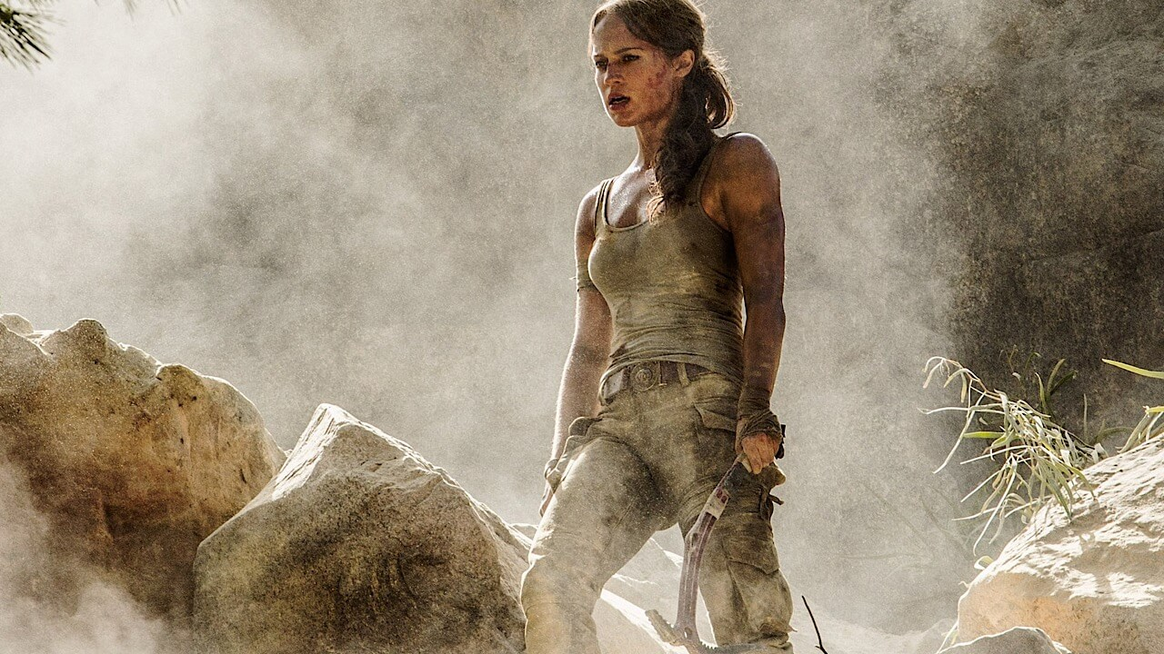 The First Look at Alicia Vikander in Tomb Raider
