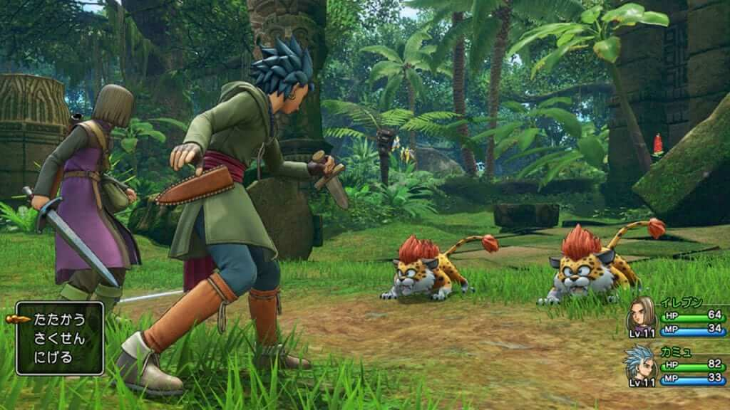 Dragon Quest XI's Battle System Differs on Each Platform